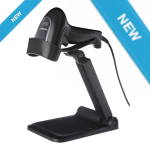 OPTICON L-50C CCD Linear Imager Barcode Scanner with Stand USB (OPL50CBKIT-U) by intelliscan.com.au