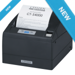 CITIZEN CTS-4000 4 inch Thermal Printer USB RS232 Black (CTS4000URBL) by intelliscan.com.au